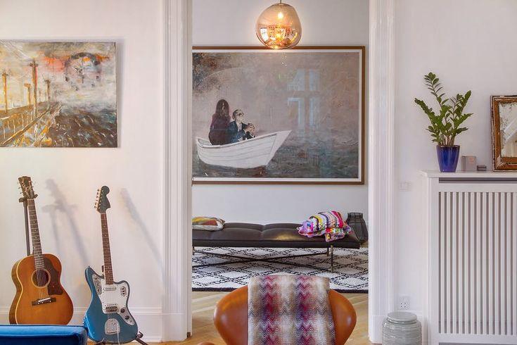 Kom indenfor hos popikonet Mads Langer på Frederiksberg | Boligmagasinet.dk