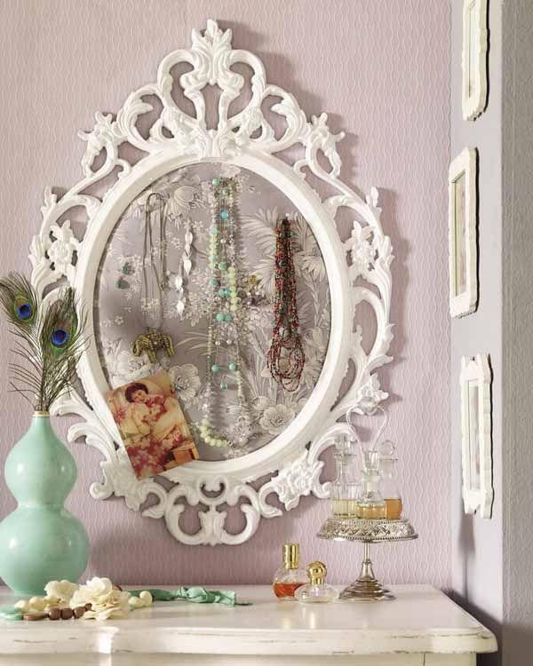 Best 25 DIY jewelry mirror ideas on Pinterest DIY jewelry
