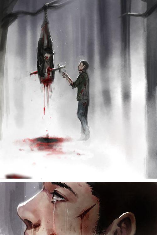 Teen Wolf - Derek Hale x Stiles Stilinski - Sterek.  Excuse me while I go crying on the floor forever