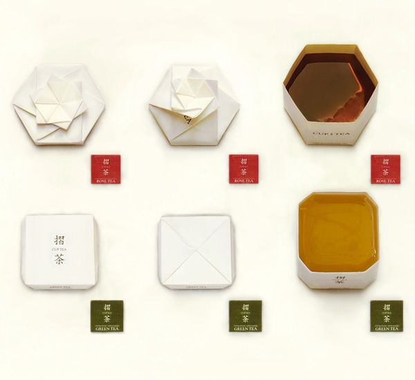 Cuptea Teabag Packaging Design by Lee Seo-jin