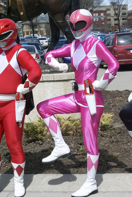 Pink Power Ranger!