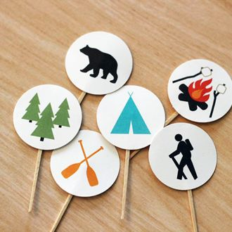 Baby Shower Ideas For Boys | Happy Camper | Camping Theme Baby Shower By I  Heart