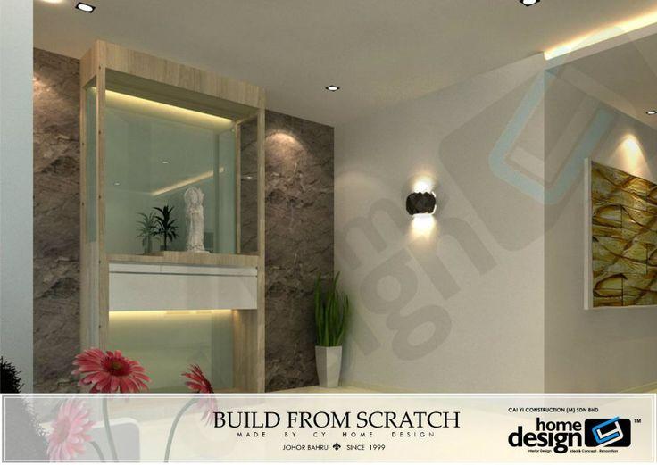 18 best praying altar images on pinterest altar design for Living room design johor bahru