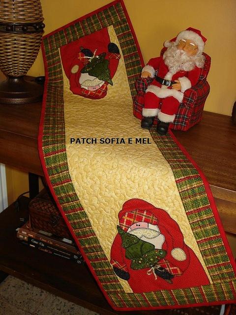 Trilho de Natal by PATCH E CIA - Sofia e Mel, via Flickr