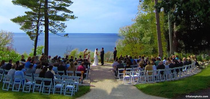The dream Wedding Ceremony Site... Love Lake Michigan in the Background, :)