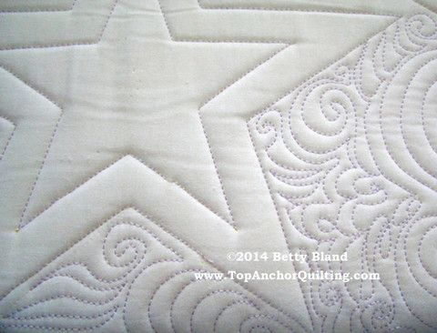Star Machine Quilting Template – TopAnchor Quilting Tools