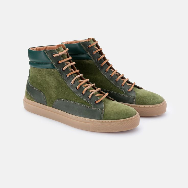 Aussie shoemaker Christian Kimber has crafted high-tops so slick you can  wear them with your suit