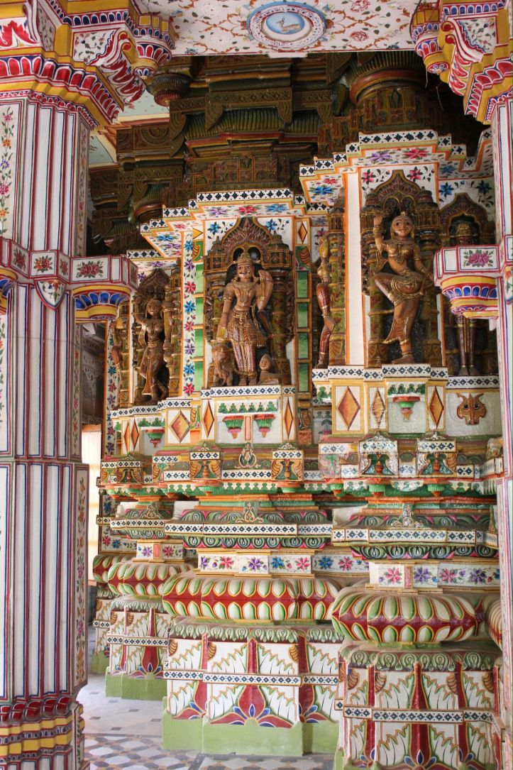 Ornate beauty that makes you feel small.  Jain temple, Rajasthan