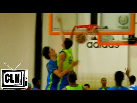 Stephen Zimmerman DUNKS ALL OVER defender at Adidas Nations 2013 - #1 Prospect in 2015
