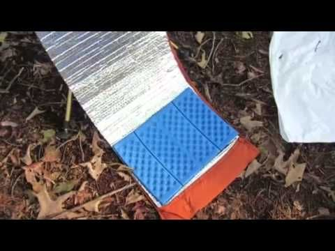 Lightweight and easy to build backpacking chair that uses your trekking poles…