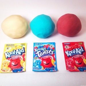 How To Make Kool Aid Playdough - No Cook Recipe