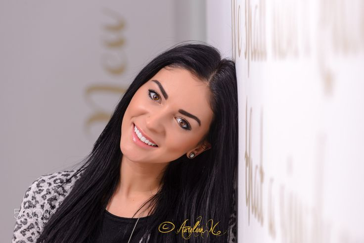 "White smile - Beautiful young woman with a bright smile! Folow me on : <a href=""www.facebook.com/naurelianphoto"">Facebook</a> 