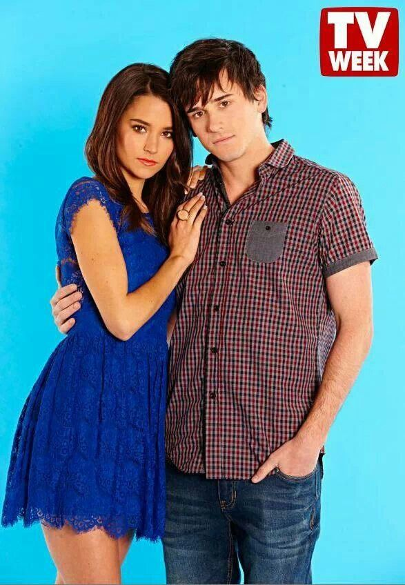 Home and Away Dex and April