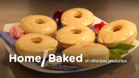 Fluffy Cake Doughnuts Allrecipes.com