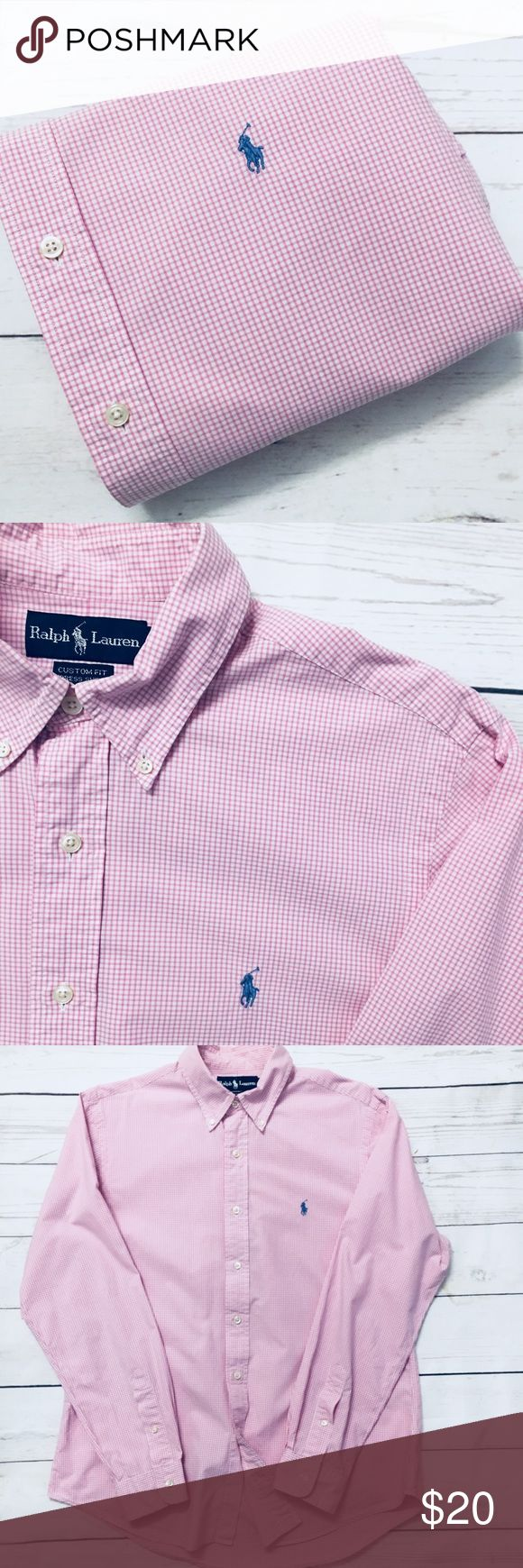 """🐎 🐎SALE 🐎1/$20•2/$35•3/$50•🐎POLO• RALPH• LAUREN•  🇺🇸Military, police & fire men & women receive 10% discount🇺🇸  men's  long sleeve 100% cotton oxford shirt• 16/ 40-41 CUSTOM FIT per tag, see measurements below•  Signature pony•  GUC•   shoulder: 18.5"""" Chest: 24"""" (armpit-armpit) Sleeve: 34"""" Length: 31""""  🐎CHECK BACK EACH WEEK FOR NEW POLO LISTINGS🐎 Polo by Ralph Lauren Shirts Casual Button Down Shirts"""