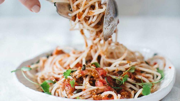 Vegan spaghetti recipe