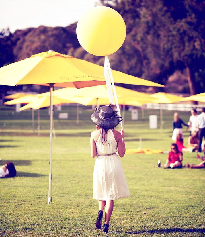 Veuve Clicquot polo match Sydne Summer balloon