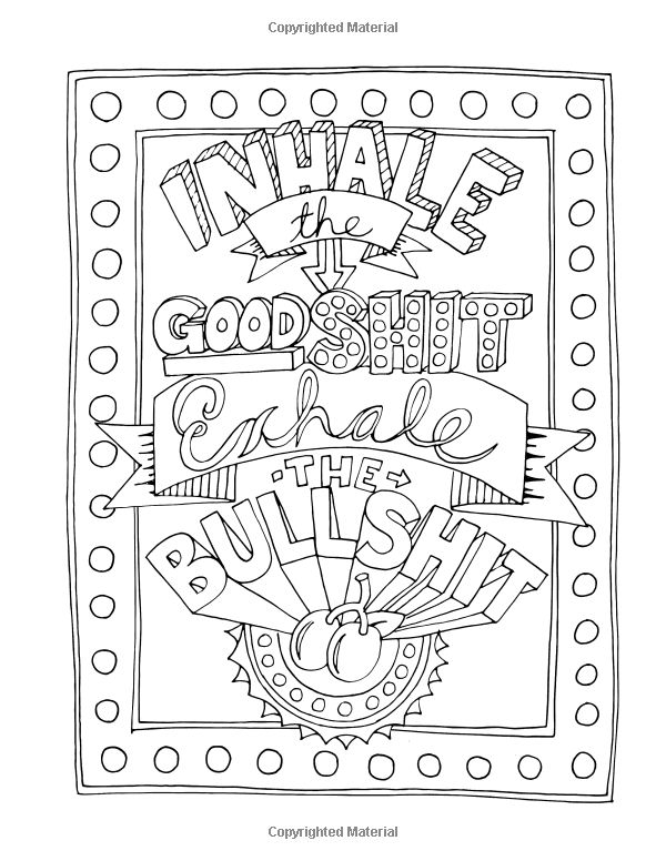 amazoncom make life your bitch a motivational inspirational adult coloring book adult coloring pagescoloring sheetscoloring