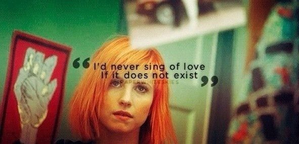 17 Best images about Paramore lyrics and quotes on ...