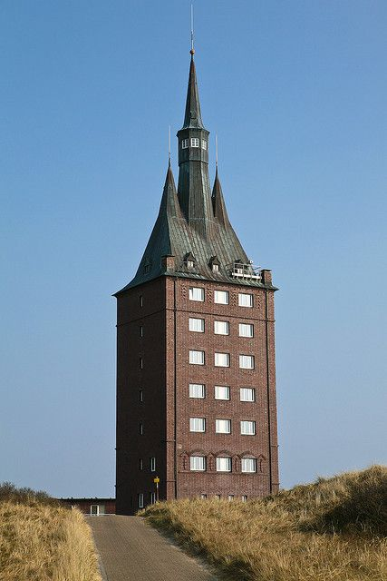 Westturm, Wangerooge, Germany