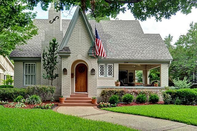 Tudor Cottage Built In 1925 Fort Worth Texas Home