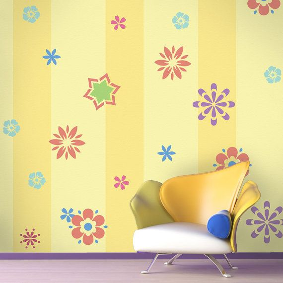 23 best Wall ideas images on Pinterest | Wall stenciling, Wall ideas ...