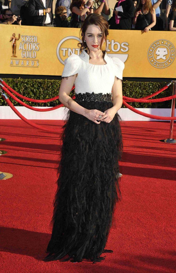 Emilia Clarke's evening dress