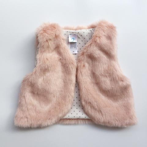 Faux Fur Baby Vest                                                                                                                                                                                 More