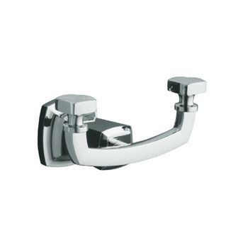 Margaux® Robe Hook    Features:    Premium metal construction for durability and reliability  KOHLER finishes resist corrosion and tarnishing  Tools and drilling template included for easy installation  Polished chrome  Solid brass construction  No visible fixings  Coordinates with Margaux faucets