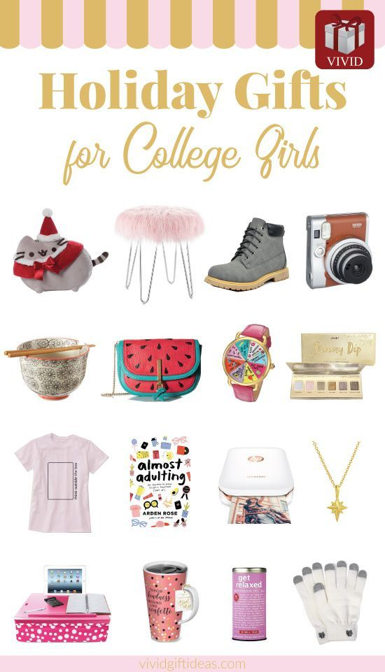 18 best christmas gifts for college girls or birthday