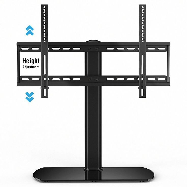 Fitueyes Universal TV Stand/ Base Tabletop TV Stand with Wall Mount for 32 to 65 #FITUEYES