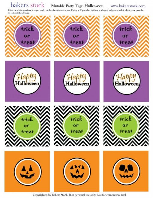 free halloween printable via cupcakemag