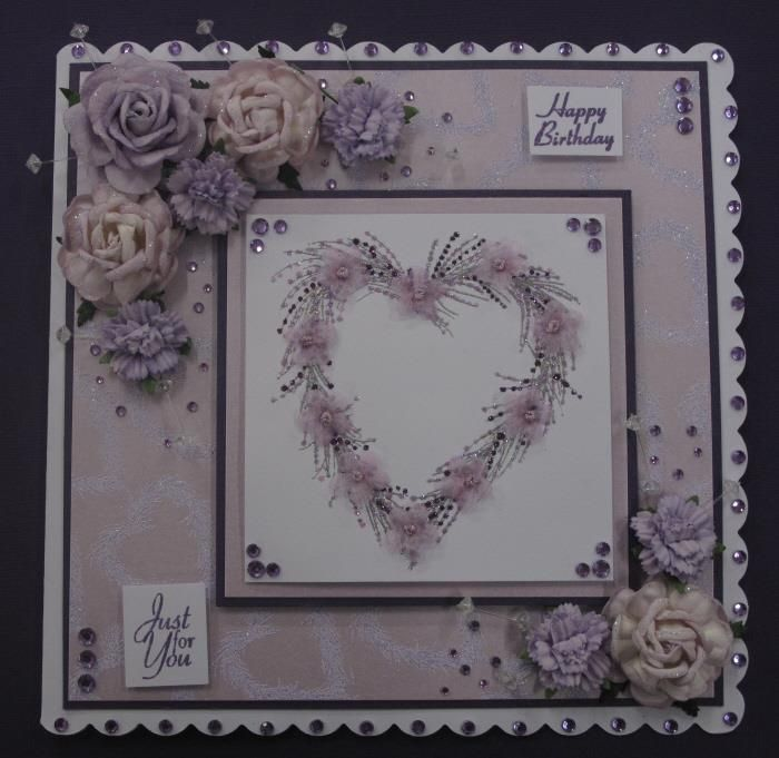 Stamps by Chloe Heart Wreath