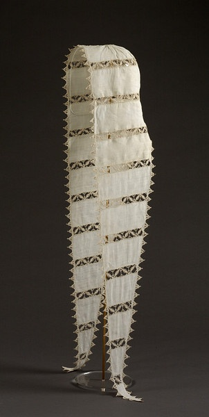 Coif with lappets. Place of origin: Flanders (probably, made), Italy (possibly, made)   Date: 1550-1600 (made).