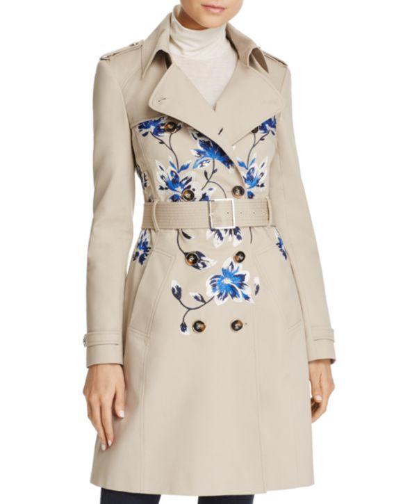 KAREN MILLEN Trench Coat & Marled Sweater - 100% Exclusives & More