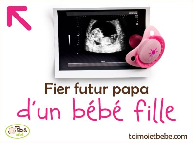 Fier futur papa d'un bébé fille!
