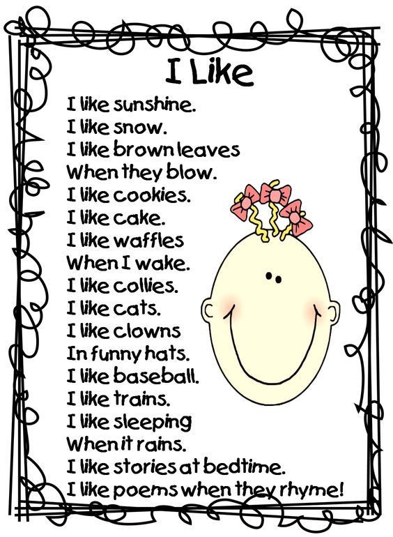 "I like poem...Intro to poetry lesson...have kids write ""I Like Poem""...so simple and fun!:"