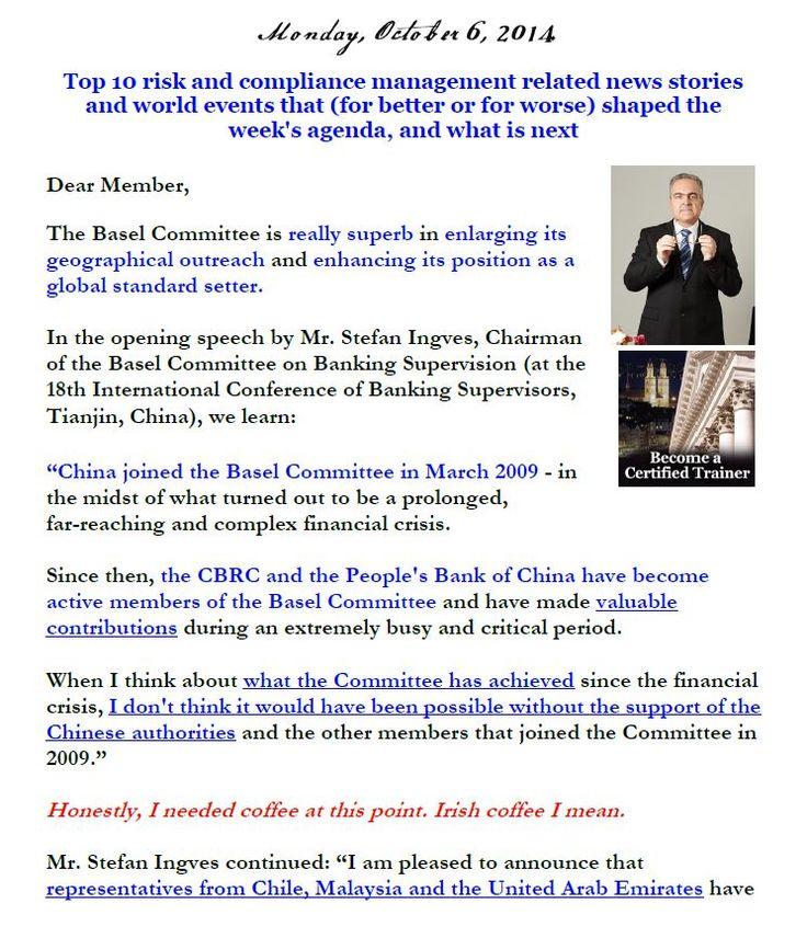 Newsletter, October 6, 2014