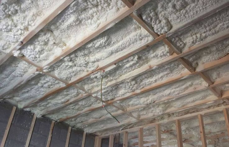 Roof Insulation Spray Foam INsulation Irlenad