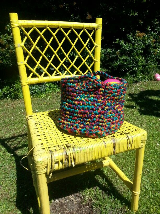 Email bytamscrochet@gmail.com to order one of my Crochet Baskets / Toy Bags
