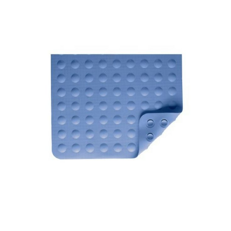 Nova Medical Rubber Bath Mats with Suction Grip  Blue 9351-R