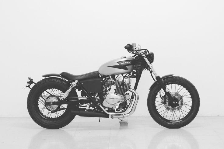 bornmotor:Honda Rebel 250 by BORN #motorcycles #bratstyle #motos | caferacerpasion.com