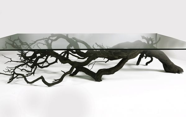Tree coffe table by Sebastian Errazuriz...a piece of art ... this is so beautiful...i would love to own this someday.