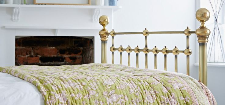 Brass Beds, Bedframes, & Bedsteads – The Cornish Bed Company