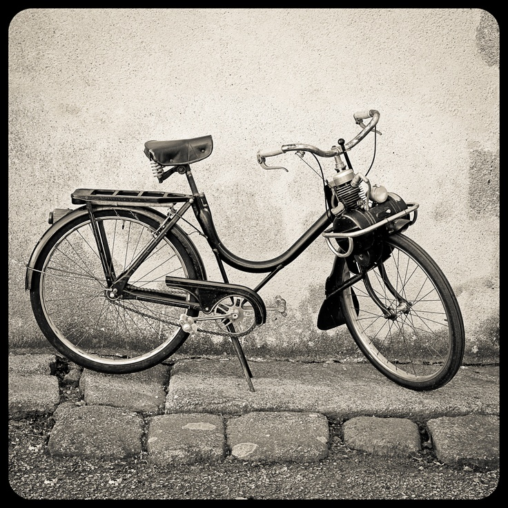 Velosolex or solex. Old French moped
