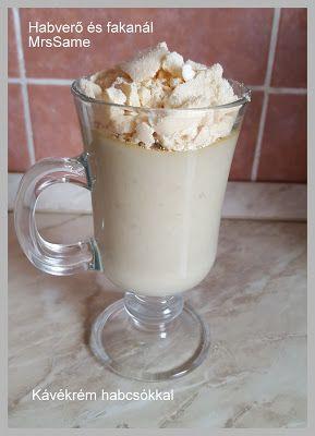 Habverő és fakanál: Kávékrém habcsókkal
