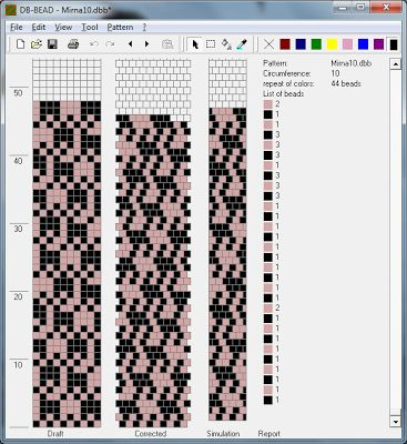 Patterns for knitting flagella-shnurikov 2   biser.info - all about beads and beaded works