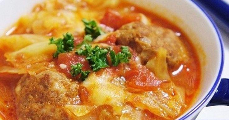 とろとろキャベツとミートボールのトマト煮 by komomoもも [クックパッド] 簡単おいしいみんなのレシピが242万品