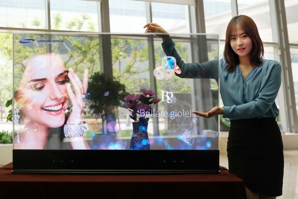 Samsung Display Introduces First Mirror and Transparent OLED Display Panels - LEDinside