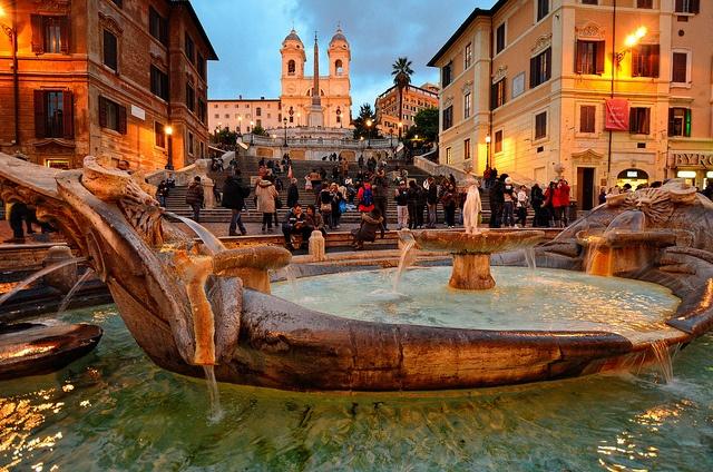 Piazza Di Spagna, Roma, Italia.....Spanish Steps.